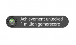 1 million gamerscore