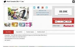 2DS Bon Plan Auchan