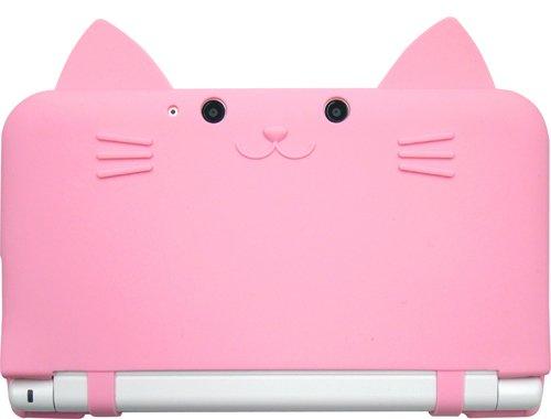 Image accessoire nintendo 3ds chat coque silicone japon 29 for Coque 3ds xl pokemon