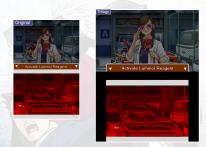 Ace Attorney Trilogy Comparaison 3DS DS 12