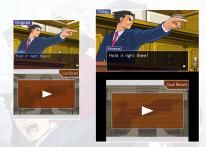 Ace Attorney Trilogy Comparaison 3DS DS 2