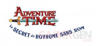 Adventure Time Le Secret du Royaume Sans Nom 20 08 2014 logo