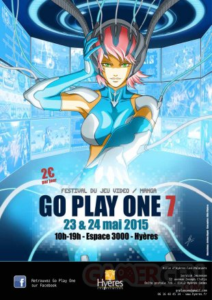 affiche GO PLAY ONE 7