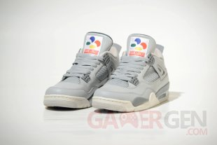 Air Jordan 4 Super Nintendo 1