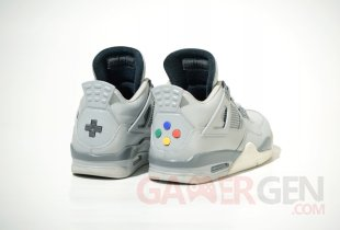 Air Jordan 4 Super Nintendo 2