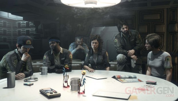 Alien Isolation DLC artwork