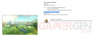 amazon italia legend zelda wiiu date