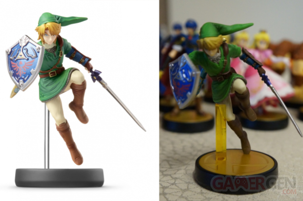 Amiibo figurines (1)