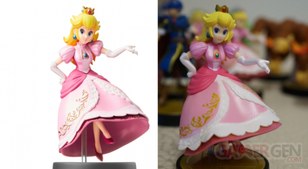 Amiibo figurines (2)