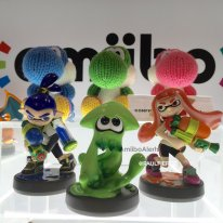 amiibo yoshi green pink blue bleu rose vert wolly wood splatoon photo