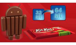 android KitKat 64 bits