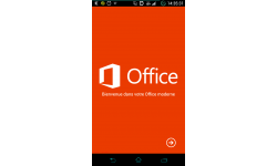 Android Microsoft Office Mobile intro logo