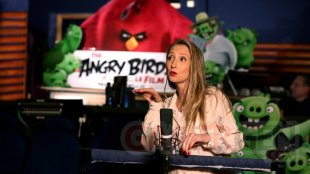Angry Birds film movie france film Audrey Lamy