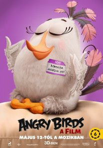 Angry Birds Le Film poster 2