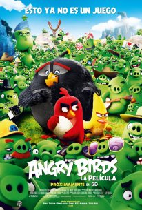 Angry Birds Le Film poster 8