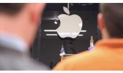 apple store sxsw logo pomme head