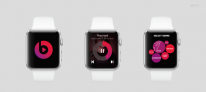 apple watch mockup beatsmusic