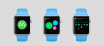 apple watch mockup moves