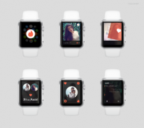 apple watch mockup tinder