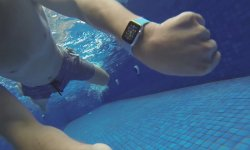 apple watch piscine