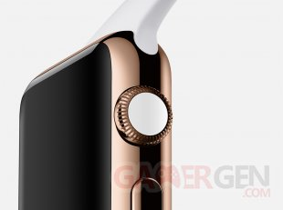 apple watch rose gold white crown large