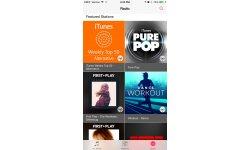 application musique ios 8 4