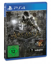 Arcania The Complete Tale jaquette PS4