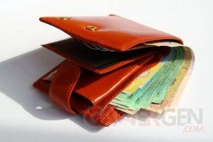 argent dans votre portefeuille