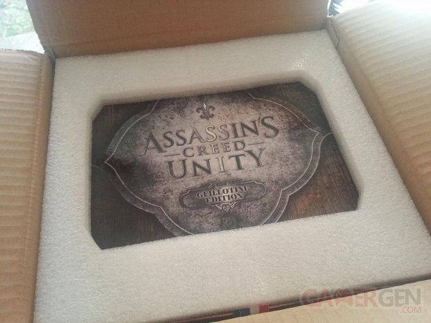 assassin's creed collector guillotine sans jeu