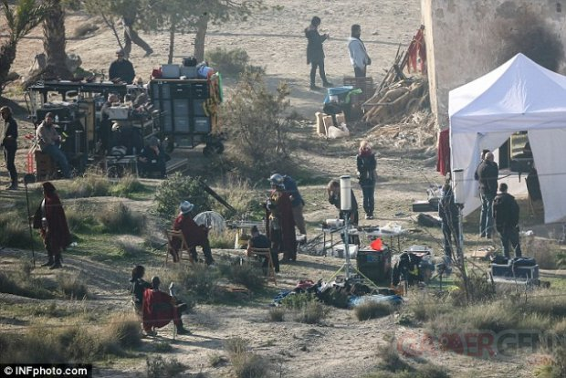 Assassin s Creed film tournage Espagne 11