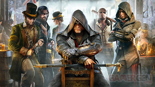 Assassin s Creed Syndicate artwork jumeaux