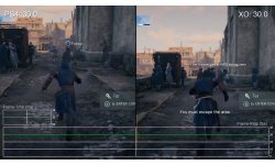 Assassin's Creed Unity comparaison mise a jour 4 patch correctif