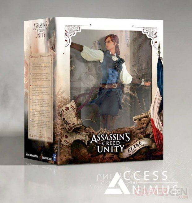 Assassin's Creed Unity Elise statue 1