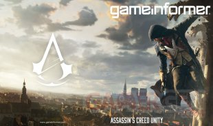 Assassin's Creed Unity Game Informer cover