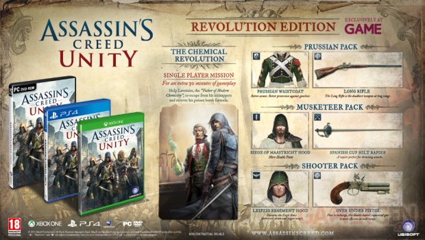 Assassin s Creed Unity Revolution Edition 4