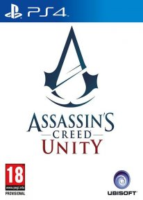 Assassin's Creed   Unity sur PS4 jaquette