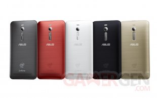 ASUS ZenFone 2 color line up