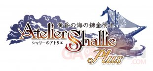 Atelier Shallie Plus Alchemists of the Dusk Sea 26 11 2015 logo