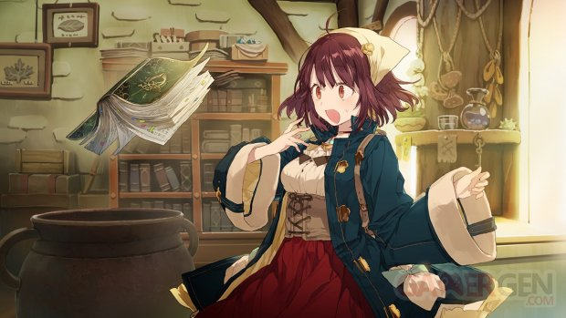 Atelier Sophie The Alchemist of the Mysterious Book 26 07 2015 art 1