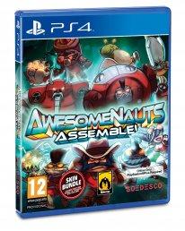 Awesomenauts Assemble! jaquette PEGI PS4