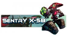 Awesomenauts Sentry X-58