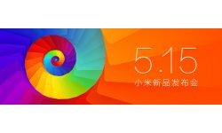 banniere conference Xiaomi 15 mai nouveaux produits