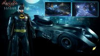Batman Arkham Knight 14 07 2015 Batmobile with Batman skin 1989