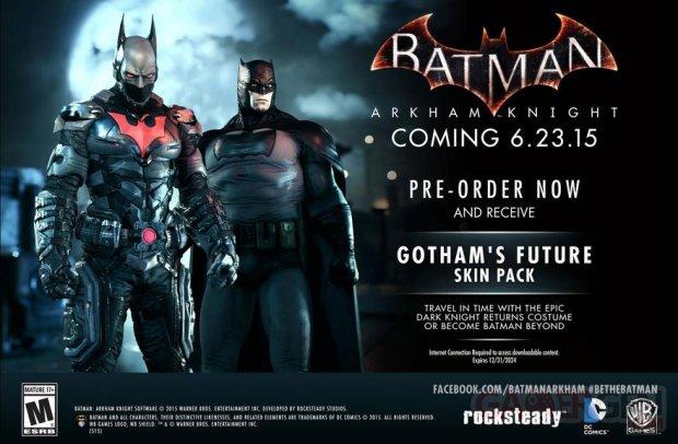 Batman Arkham Knight 23 05 2015 Gotham's Future Pack