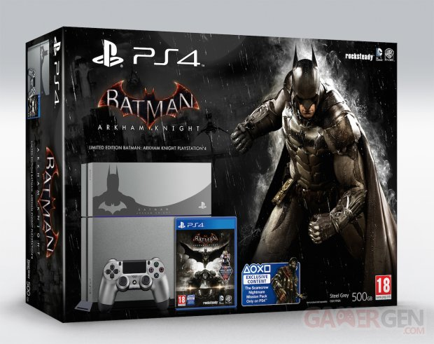 Batman Arkham Knight bundle PS4 image screenshot 4