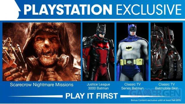 batman arkham knight dlc exclusif ps4