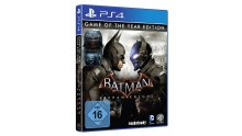 Batman Arkham Knight Jaquette Cover Game of the Year Edition GOTY PS4
