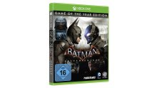 Batman Arkham Knight Jaquette Cover Game of the Year Edition GOTY Xbox One