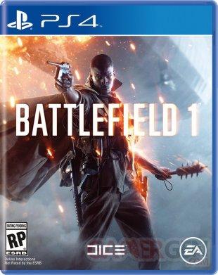battlefield 1 jaquette PS4
