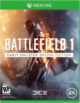 battlefield 1 jaquette Xbox One